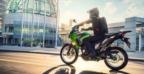 Опубликована стоимость байка Kawasaki Versys-X 300 2017