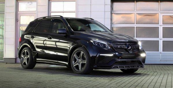 Бронированный Mercedes GLE оснастили обвесом TopCar