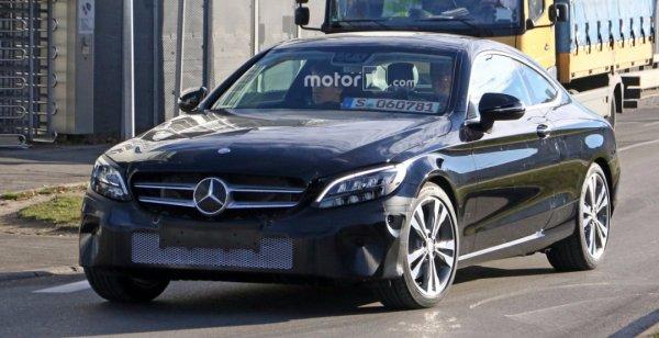 Купе Mercedes-Benz C-Class оснастят системой рекуперации энергии