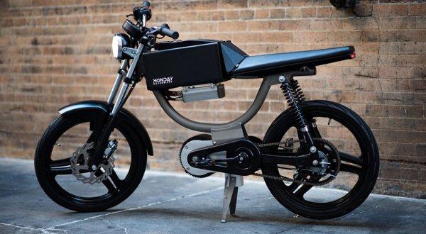 Monday Motorbikes представила электрический велосипед M1