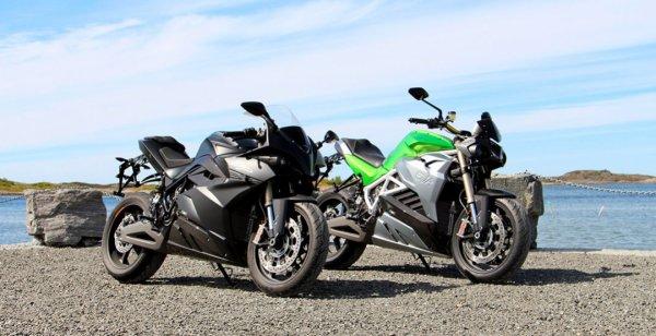 Energica начнёт продавать электромотоциклы в Калифорнии