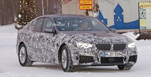 BMW 6-Series с пакетом M Sport вывели на дорожные тесты