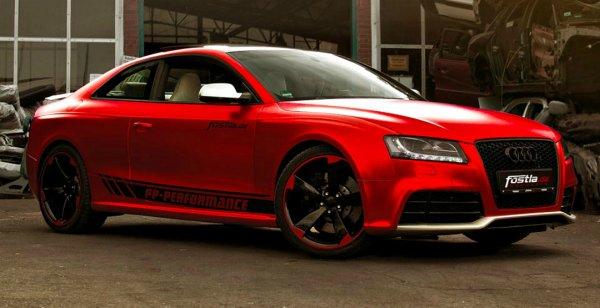 Топовая модификация Audi RS5 получила яркий тюнинг от Fostla