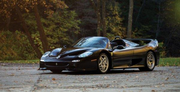 Редкий родстер Ferrari F50 оценён в 3 миллиона долларов