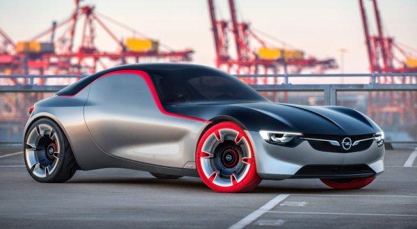 Opel в 2017 году может возродить легендарное купе GT