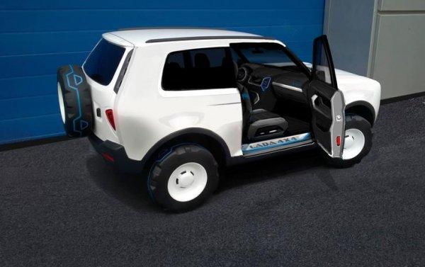Новая LADA 4x4 получит комплектующие от Renault Duster