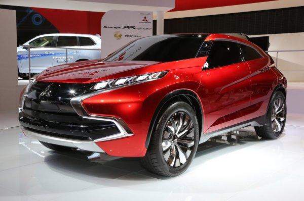 Mitsubishi вывел на тесты новый кроссовер в стиле концепткара XR-PHEV II
