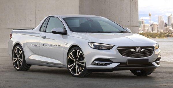 Опубликованы рендеры Opel Insignia Grand Sport OPC 2018