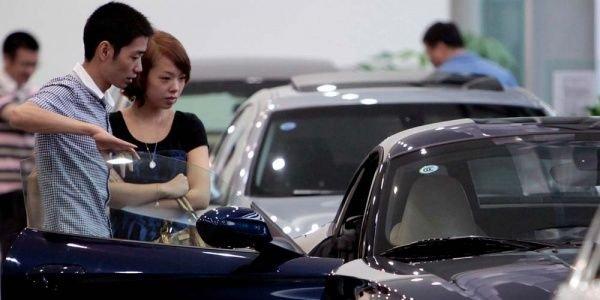В Китае объем проданных авто за последние 3 года достиг максимума