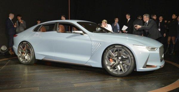 В сети опубликован рендер седана Genesis G70 нового поколения