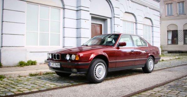 Седану BMW E34 5-Series исполнилось 29 лет