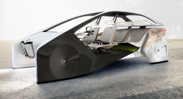 BMW вскоре презентует автомобиль будущего