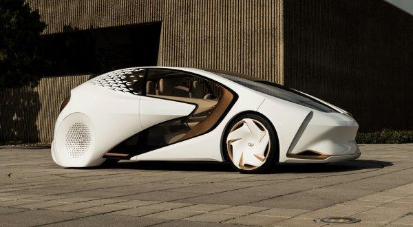 Toyota официально презентовала на выставке CES «умный» концепт Concept-i