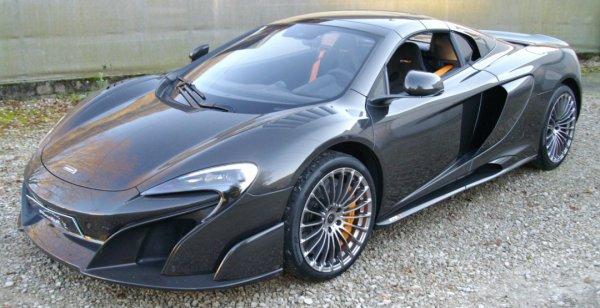 McLaren 675LT Spider Carbon Series может уйти с молотка за 750 млн евро