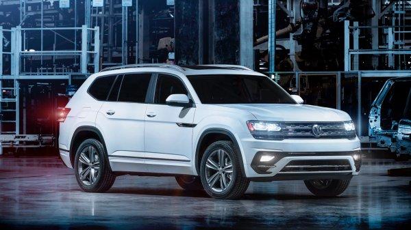 Внедорожник Volkswagen Atlas получит пакет дополнений R-Line