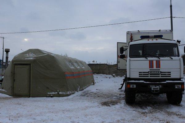 В Подмосковье на участках федеральных трасс открыли пункты обогрева