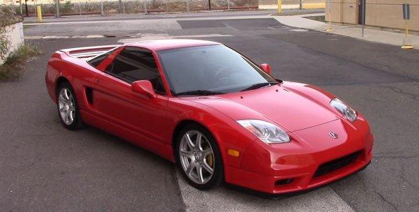 14-летний спорткар Acura NSX оценили в 125 000 долларов