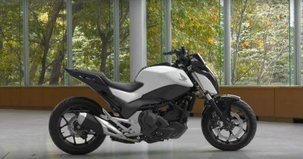 Honda представила самобалансирующийся мотоцикл