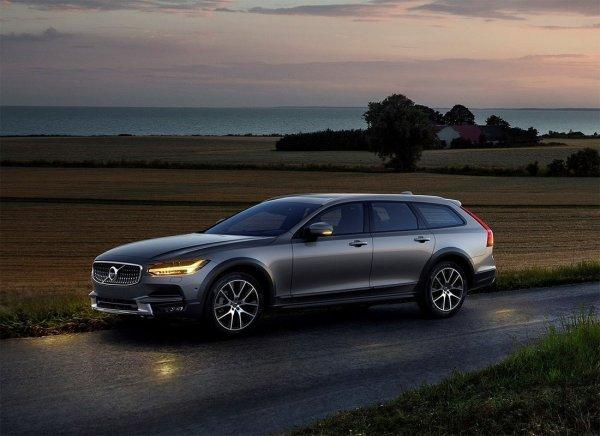 Американская премьера универсала Volvo V90 состоится в Детройте