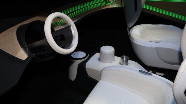 Panasonic представил своё видение кабины автомобиля с «автопилотом»