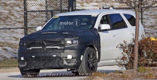 Dodge Durango SRT с двигателем Hellcat заметили на тестах