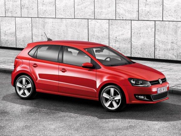 Volkswagen Polo стал самой популярной моделью В-класса в 2016 году