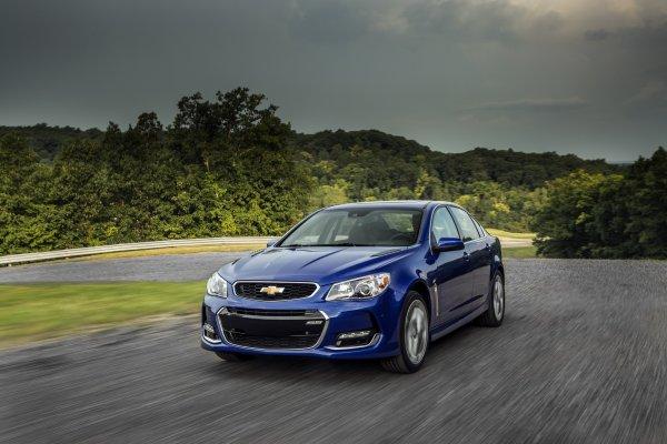 Седан Chevrolet SS будет снят с производства в 2017 году