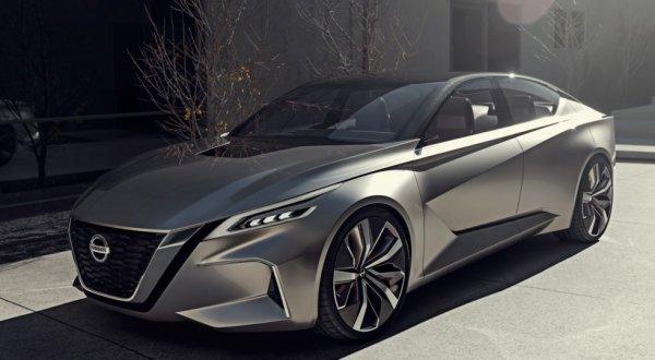 Концептуальный седан Nissan Vmotion 2.0 дебютировал в Детройте