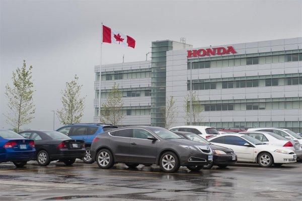 Honda инвестирует более 300 млн долларов в свои заводы в Канаде