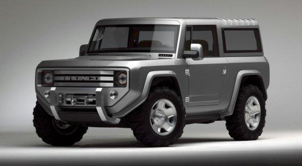 Ford возродит легендарный внедорожник Bronco