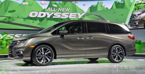 Состоялась официальная премьера обновленного Honda Odyssey