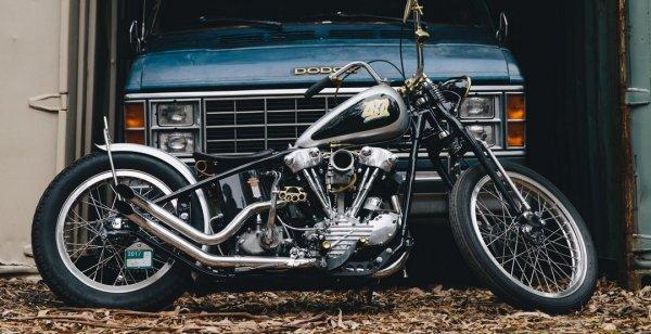 Robs 47 представила Harley-Davidson FL Knucklehead