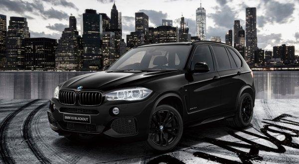 BMW представила особые версии кроссоверов X3, X4 и X5 в Японии