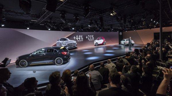 Mercedes намерен расширить линейку компактных машин до восьми моделей