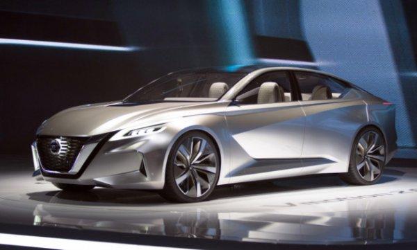 Дизайн прототипа Nissan Teana признали лучшим на автовыставке в Детройте
