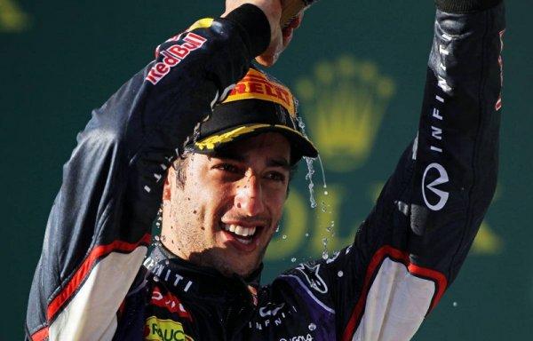 Даниэль Риккьярдо намерен протестировать новый болид Red Bull