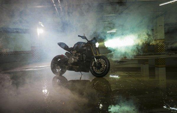 Тюнеры из Benjie's Café Racer выкатили кастомный байк Ducati Panigale 899