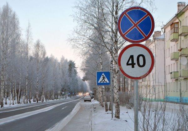 В Москве в конце января появятся уменьшенные дорожные знаки