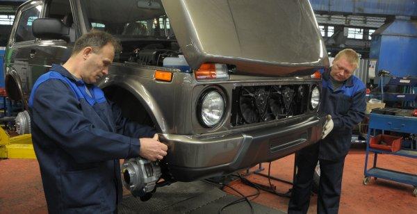 Производство трехдверной LADA 4X4 перенесено на главный конвейер «АвтоВАЗ»