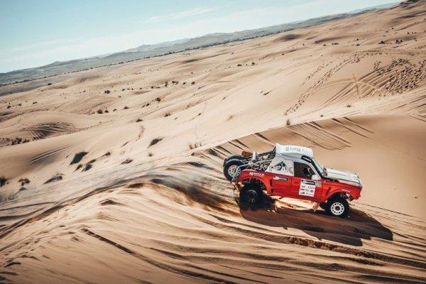 Россияне заняли второе место на четвёртом этапе Africa Eco Race-2017
