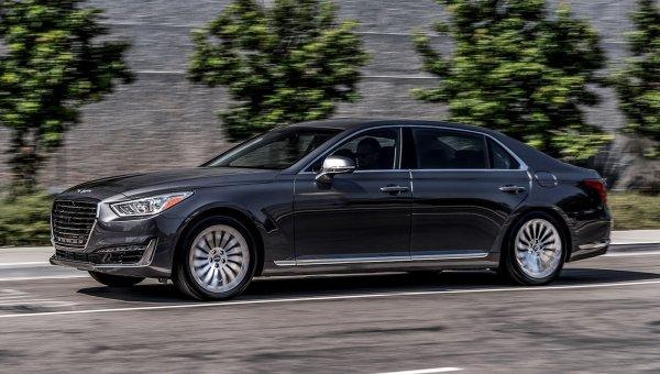 Genesis за 3 месяца продал на российском рынке 46 автомобилей