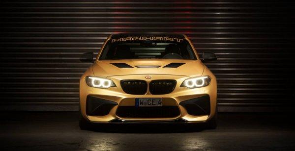 Купе BMW M2 Coupe от Manhart Performance показали на фотографиях