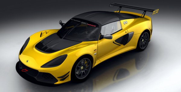 Британцы сделали трековую версию Lotus Exige Sport 380
