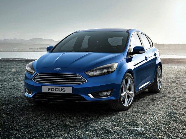 Рестайлинговый Ford Focus дебютирует в 2018 году