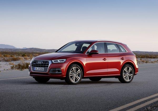 Озвучены цены на обновленный кроссовер Audi Q5