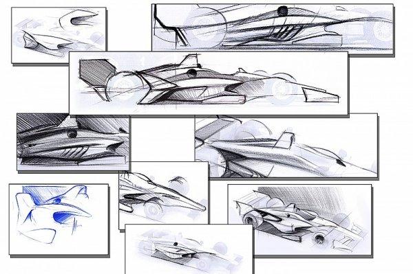 IndyCar показала концепт нового автомобиля 2018 модельного года