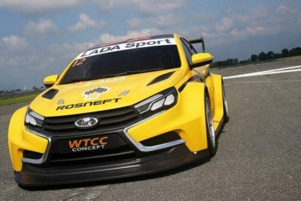 Появились подробности о гоночном седане LADA Vesta Sport