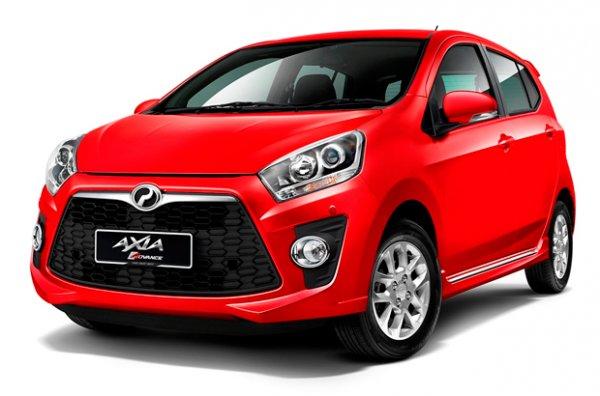 В сети появился тизер рестайлингового ситикара Perodua Axia