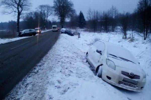 Два человека пострадали в ДТП на трассе «Светлогорск – Калининград»