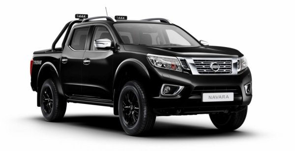 Nissan представил лимитированную версию пикапа Navara